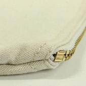 Fermeture zip porte monnaie coton personnalisable