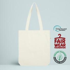 Le Tote bag Recyclé 215 GR/M² écru