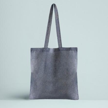Le Tote bag Recyclé Couleur bleu
