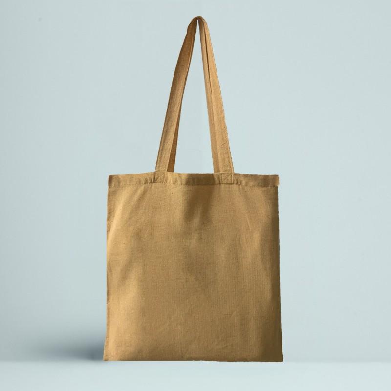 Le Tote bag Recyclé Couleur jaune