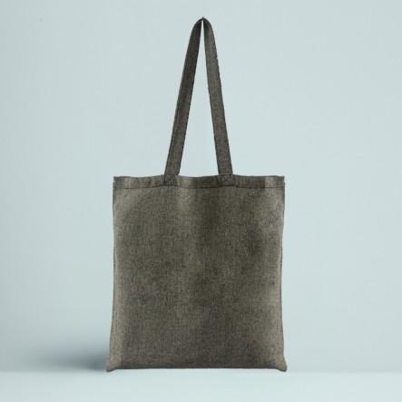 Le Tote bag Recyclé Couleur noir