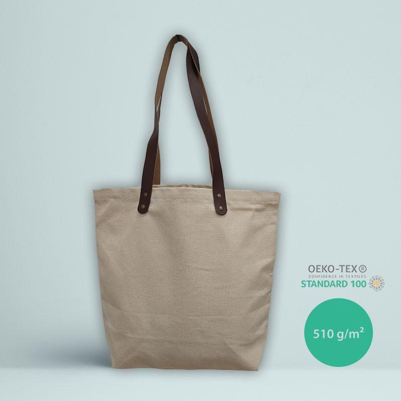 Cabas en coton premium l Atelier parisien de sac en coton personnalisé l Bagart.fr