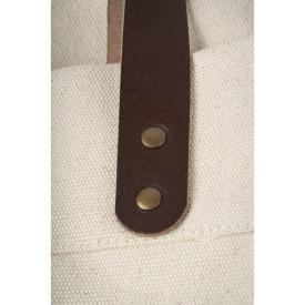 Anses de ce Cabas coton épais imprimé en France dans l'atelier parisien de sac en coton personnalisé l Bagart.fr