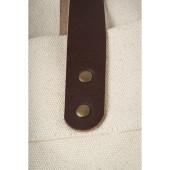 Anses de ce Cabas Ourcq coton épais imprimé en France dans l'atelier parisien de sac en coton personnalisé l Bagart.fr