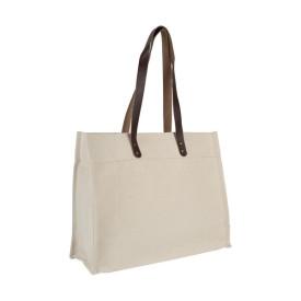 Cabas ourcq en coton premium l Atelier parisien de sac en coton personnalisé l Bagart.fr