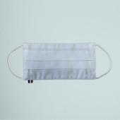 Le masque coton français blanc 50 lavages personnalisé en France par Bagart