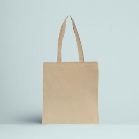 Le Tote bag Recyclé Couleur écru nature
