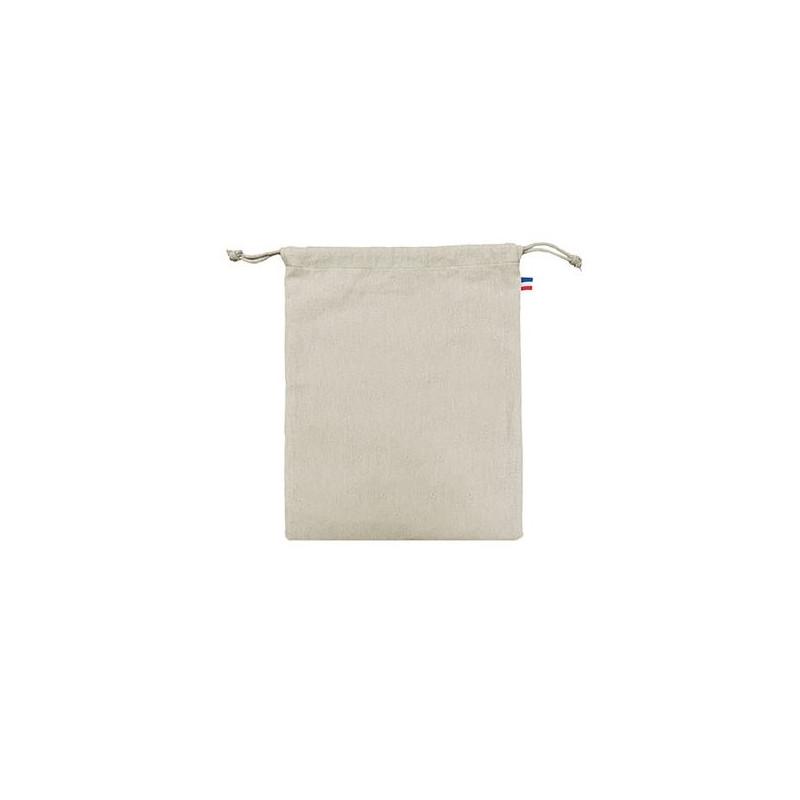 Pochon coton CRIMEE M - 250 GR/M² - made in France - impression quadrinumérique