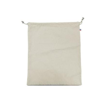 Pochon coton CRIMEE XL - 250 GR/M² - made in France - 100% bio - couleur écru - personnalisation - impression numérique
