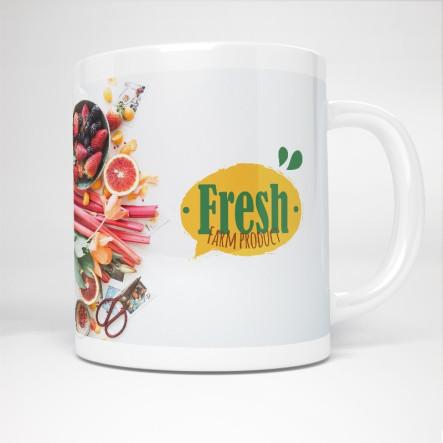 Mug en céramique personnalisé - France