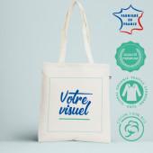 Tote bag biologique fabrication française l Atelier parisien de sac en coton personnalisé avec votre visuel l Bagart.fr