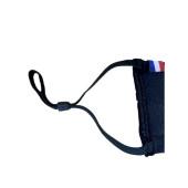 Le masque coton français noir personnalisé - 50 lavages - élastiques doux