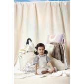 grand Panier de rangement en coton pour jouets ou linge l Atelier parisien de sac en coton personnalisé l Bagart.fr