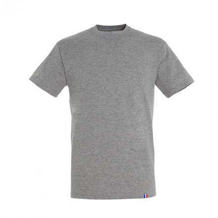 T-shirt - Made in France - gris - face