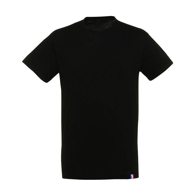 T-shirt - Made in France - noir - face