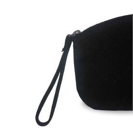 Petite trousse BIO 407 GR/M² - noir - zip argenté