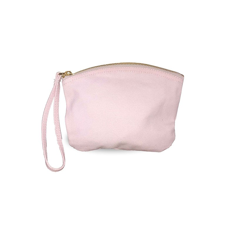 Petite trousse BIO 407 GR/M² - rose pastel