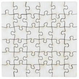 puzzle en bois made in France sans marquage