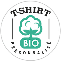 Tshirt Bio personnalisé en France dans notre atelier parisien