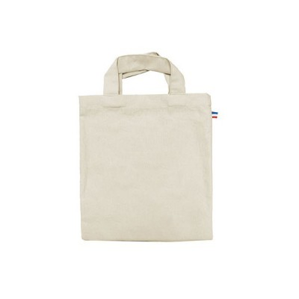 Petit sac coton LOURMEL - 250 GR/M² - made in France - 100% bio - couleur écru
